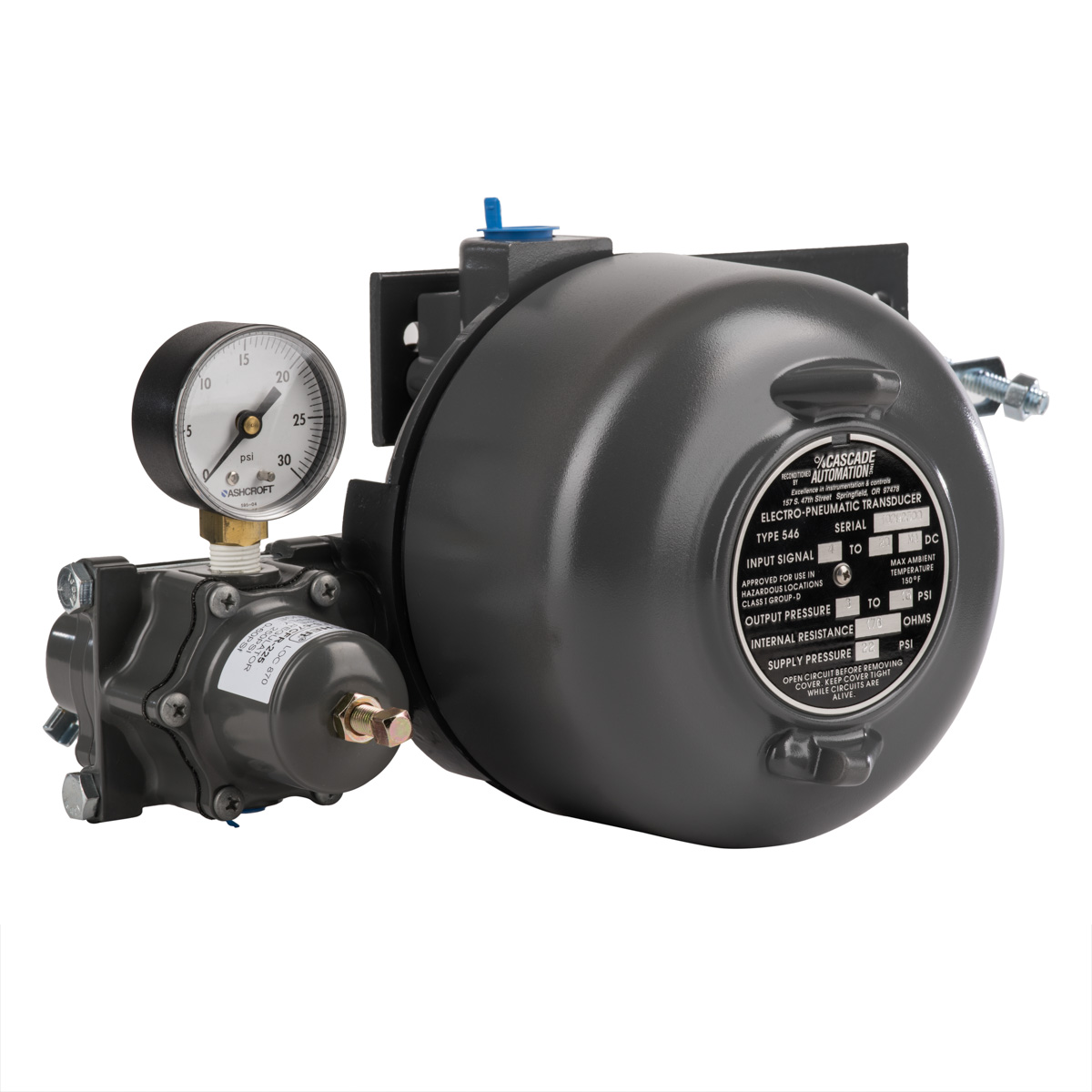 Fisher 546 I/P Transducer