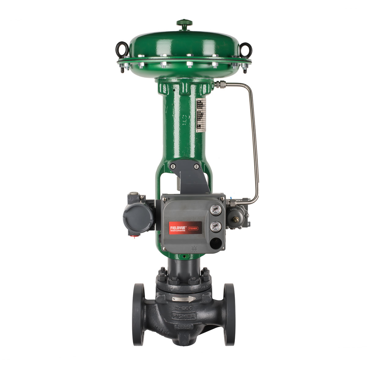 Fisher E-Body Globe Valve