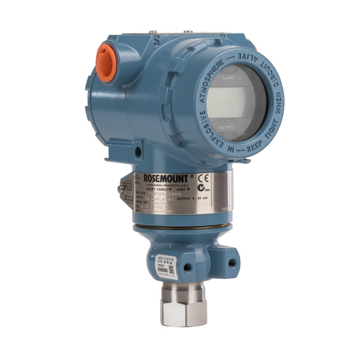 Rosemount 3051TG Gauge Pressure Transmitter
