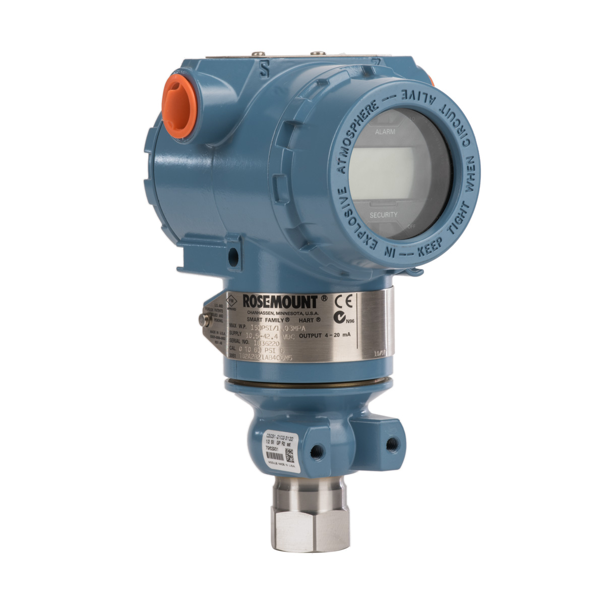 Rosemount 3051TA Absolute Pressure Transmitter