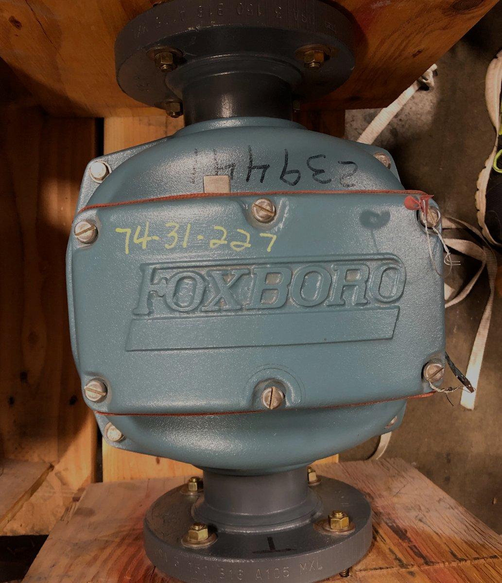 Foxboro 8303SABA-TTJ-GFGZ 3in CL150 DC Magnetic Flowtube