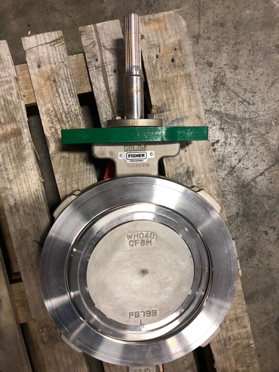 Fisher 8560 Butterfly Valve 12in Class 150