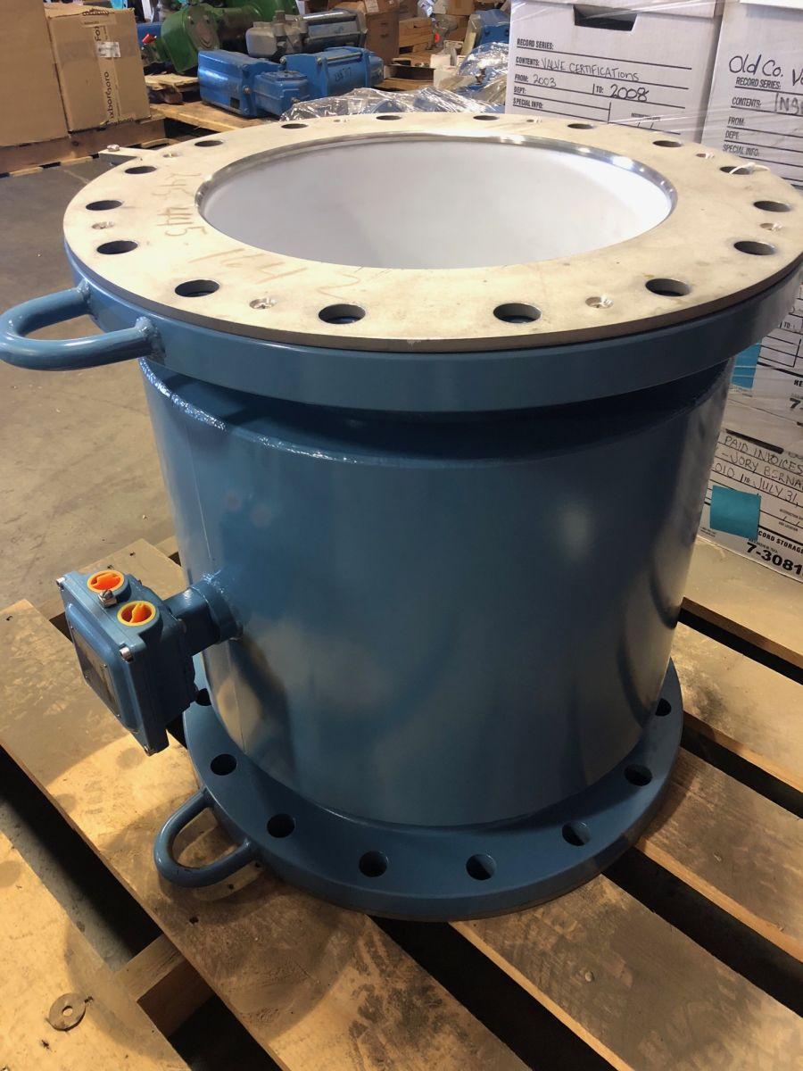 Rosemount 8707THA160C1W0N0L1 16in. CL150 Magnetic Flowmeter