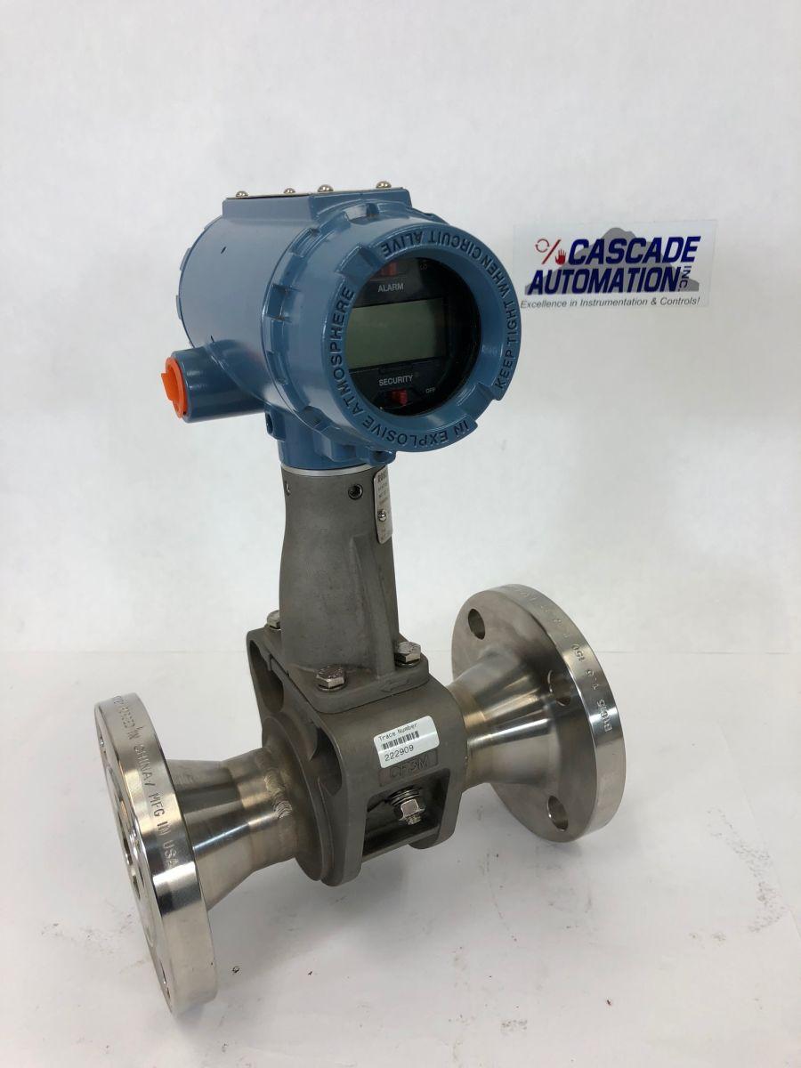 Rosemount Vortex Flow Meter 8800DF015SA1N1D1M5 1.5in Class 150