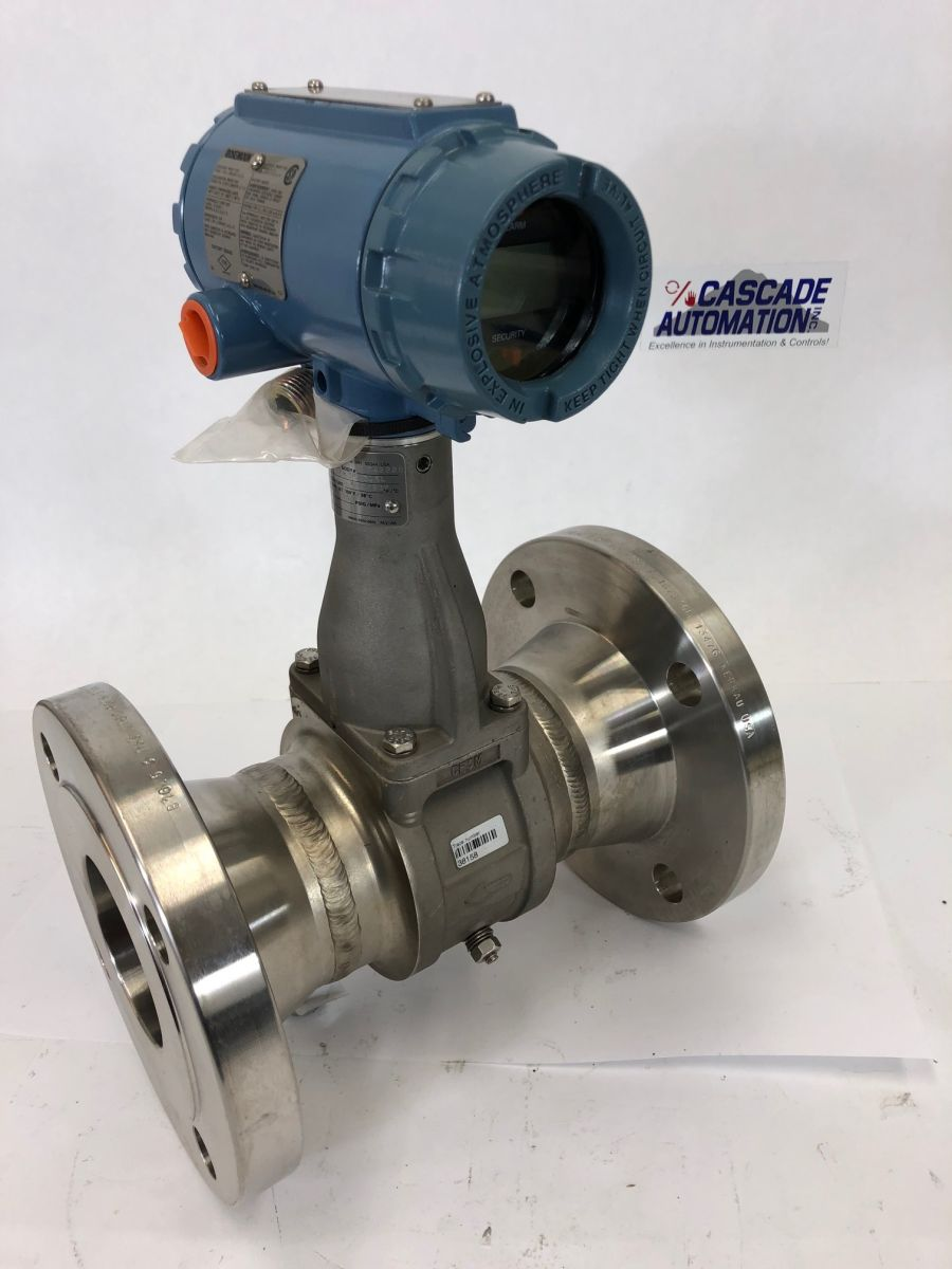 Rosemount Vortex Flow Meter 8800CF030SA1N1D1E5M504 03in Class 150