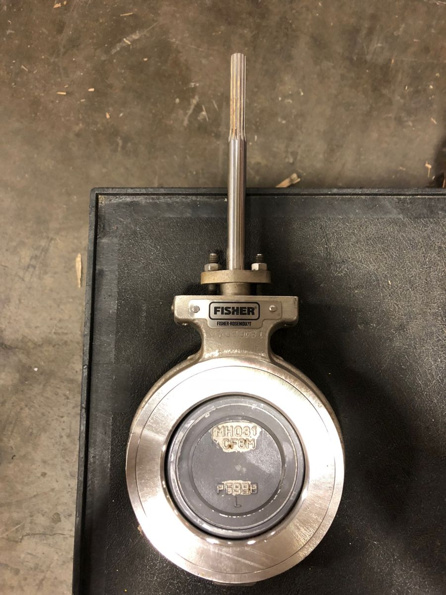 Fisher Butterfly Valve 4in Class 150