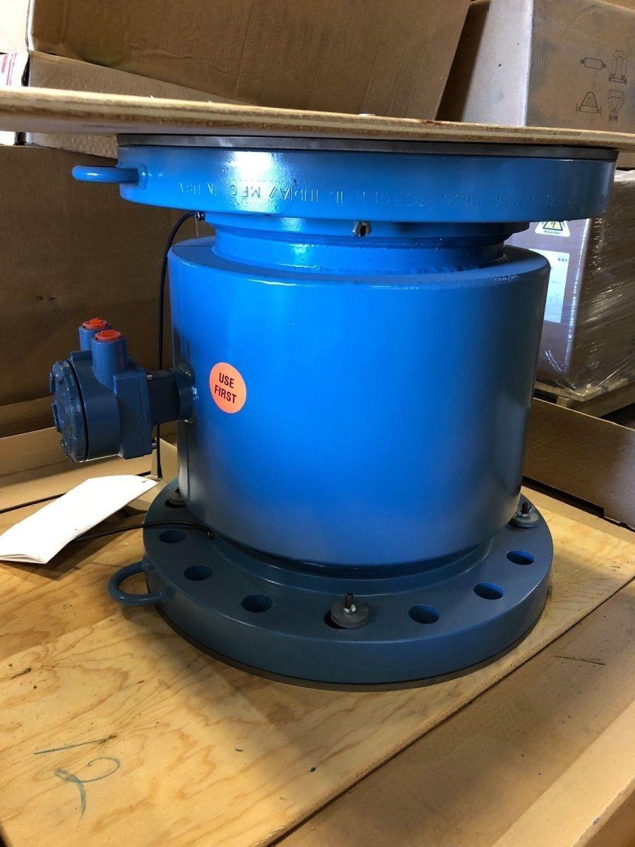 Rosemount 8707APA120S3W0NAL1D2DT 12in. CL300 Magnetic Flowmeter