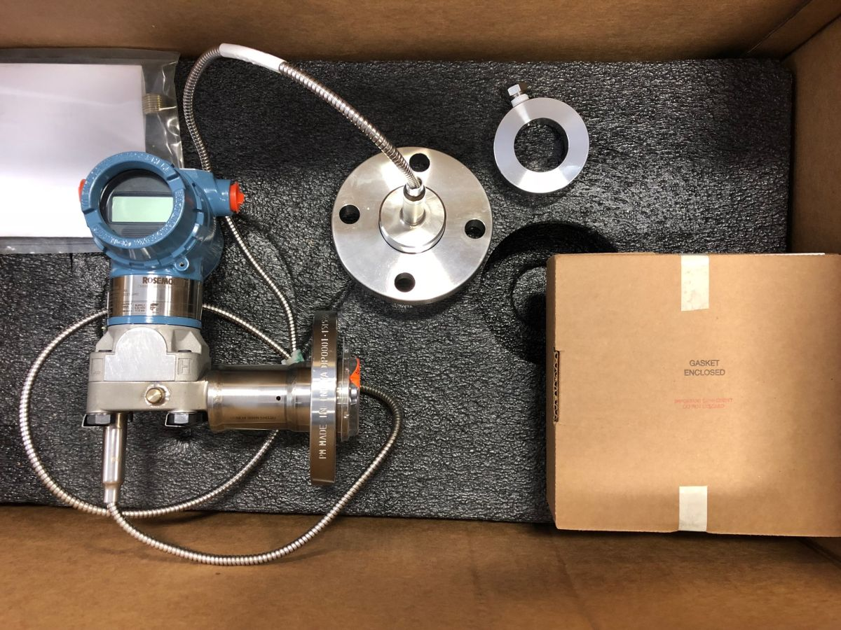 Rosemount Level Transmitter With Single Remote 1-1/2″ 150# 3051CD2A22A1AS2E5L4M5
