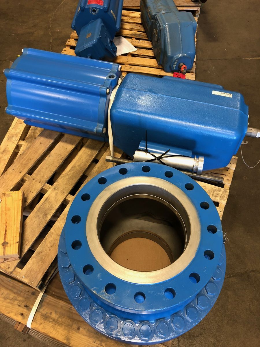 Neles Ball Valve 12in Class 300 PDA12AAK01 W/ Actuator