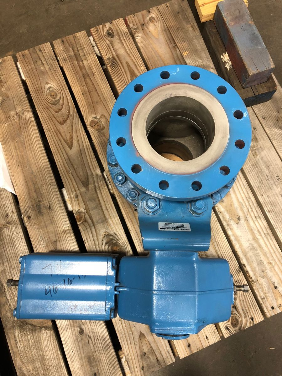 Neles Ball Valve 6in Class 300 PDA06AAR01 W/ Actuator
