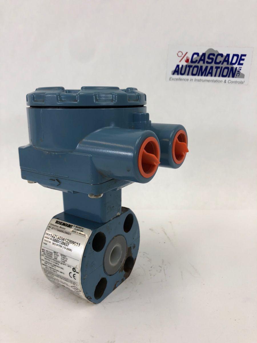 Rosemount 8711TSA005U3N0D1 1/2in CL300 Magnetic Flowmeter
