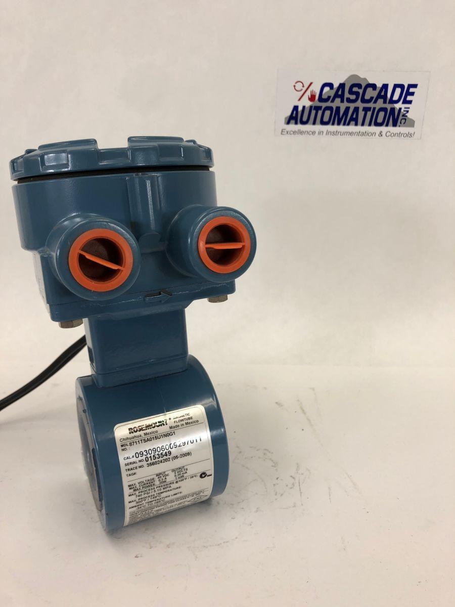 Rosemount 8711TSA015U1N0G1 1.5in CL150 Magnetic Flowmeter