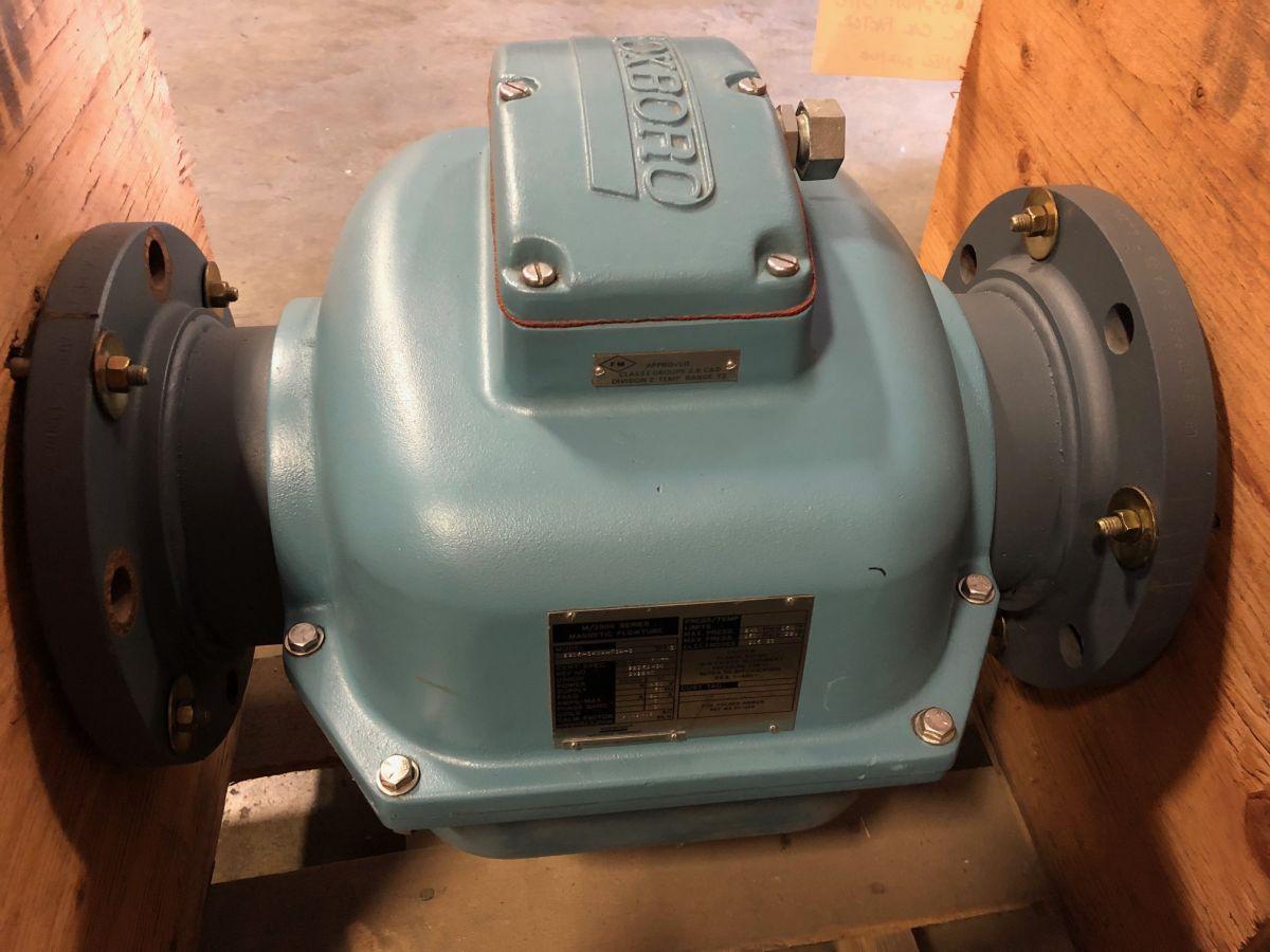 Foxboro 2806-SABA-TSA-G 6in. CL150 Magnetic Flowmeter