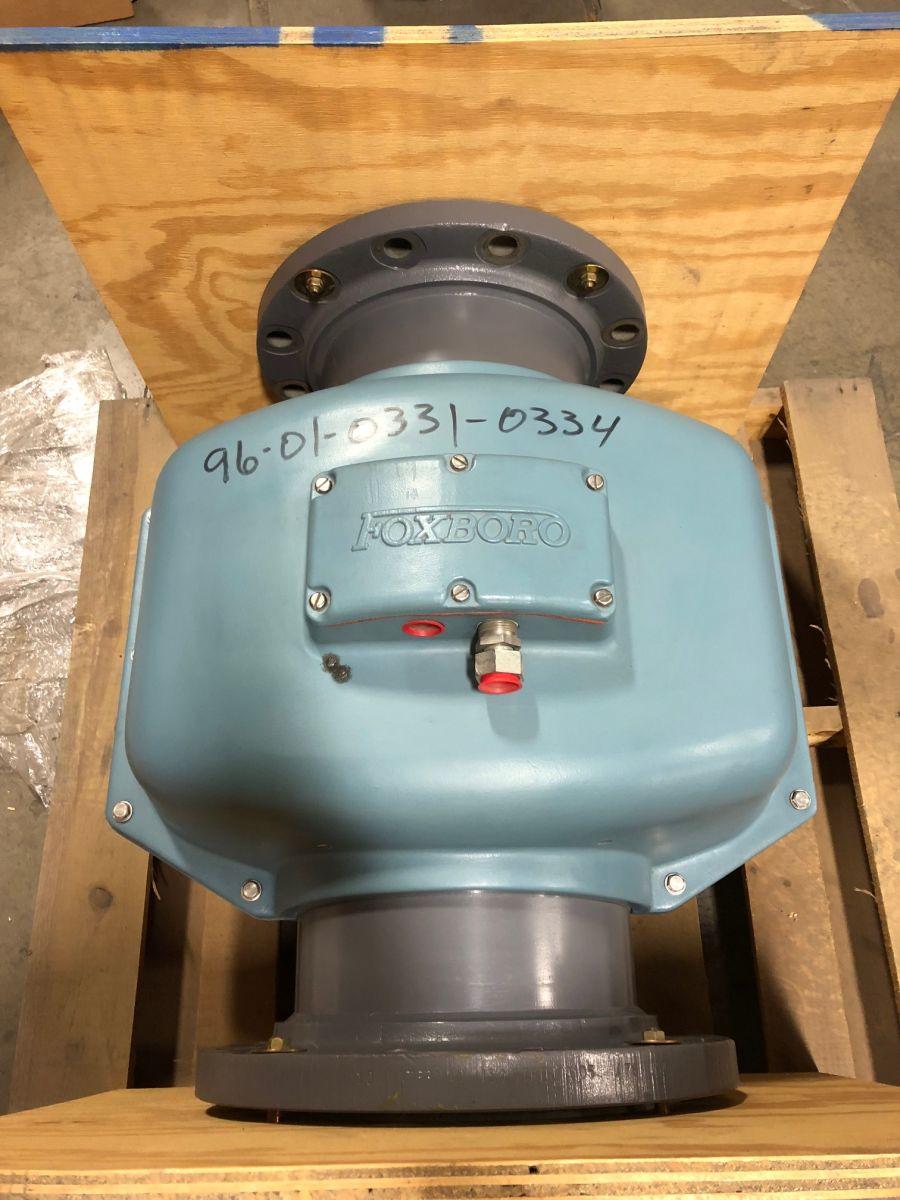 Foxboro 2810-SABA-TSA-G-U 10in. CL150 Magnetic Flowmeter