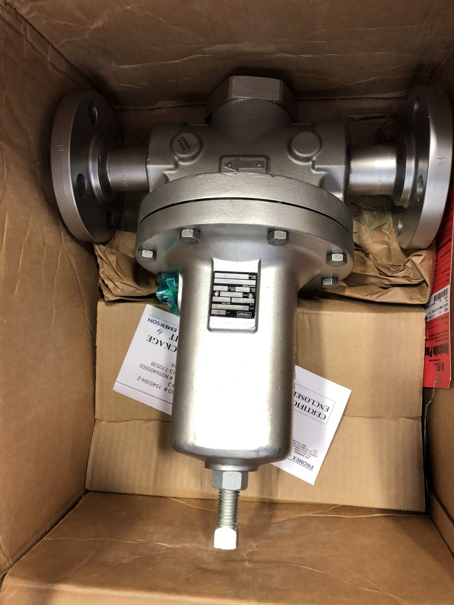 Fisher Flanged Pressure Regulator MR95H 1.5″ Class 300