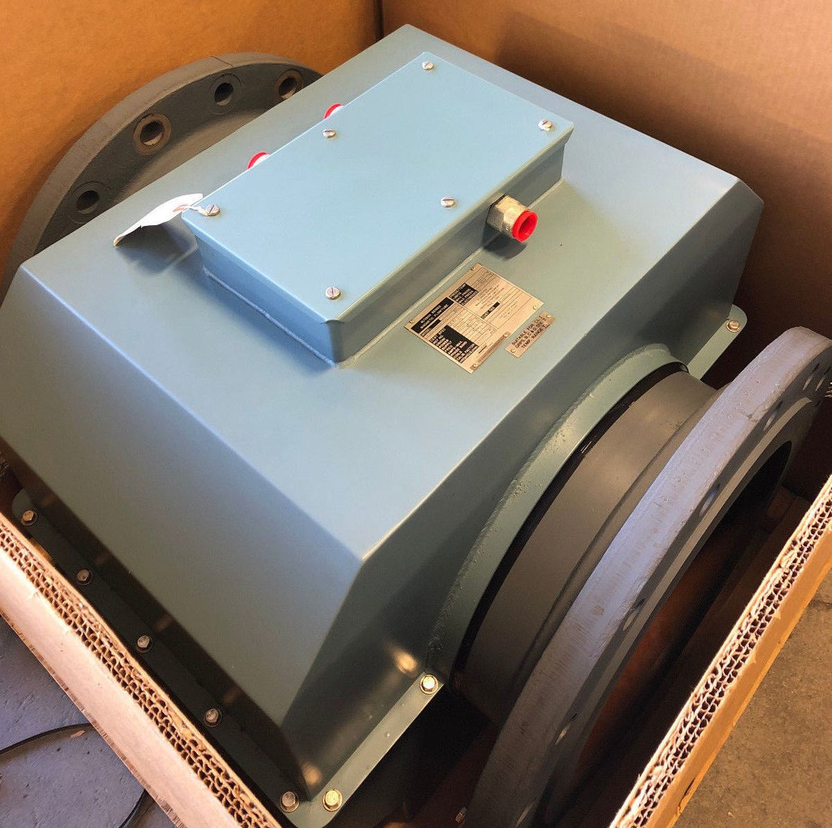 Foxboro 2816-SEBA-ASA-G 16in. CL150 Magnetic Flowmeter