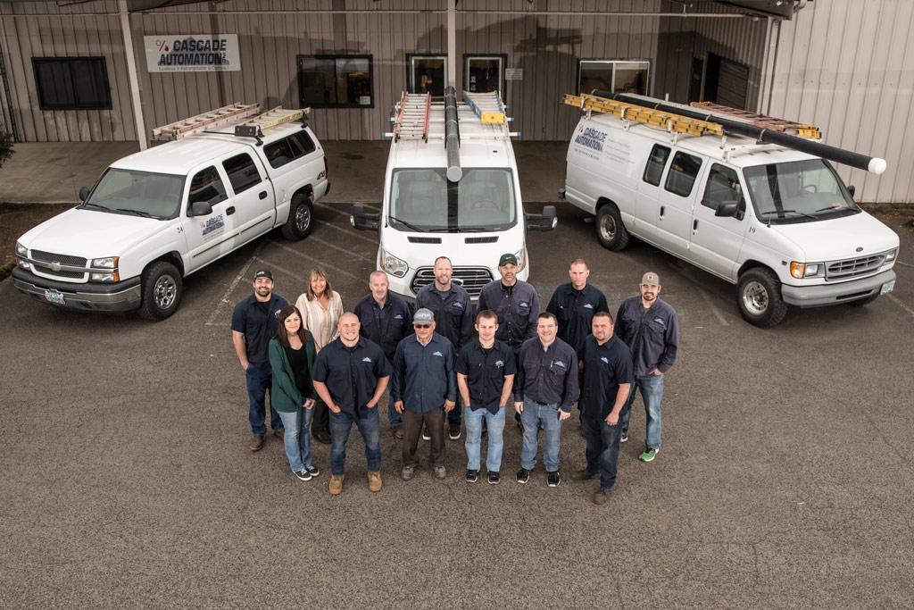 Cascade Automation staff