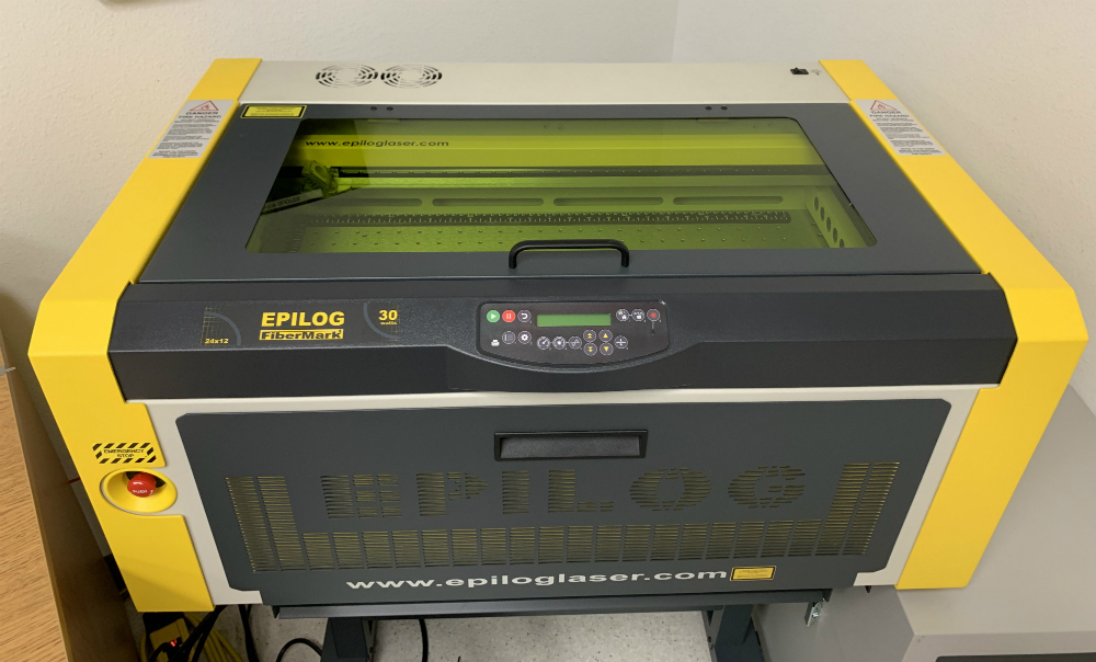 New Laser Engraver For Product Tags